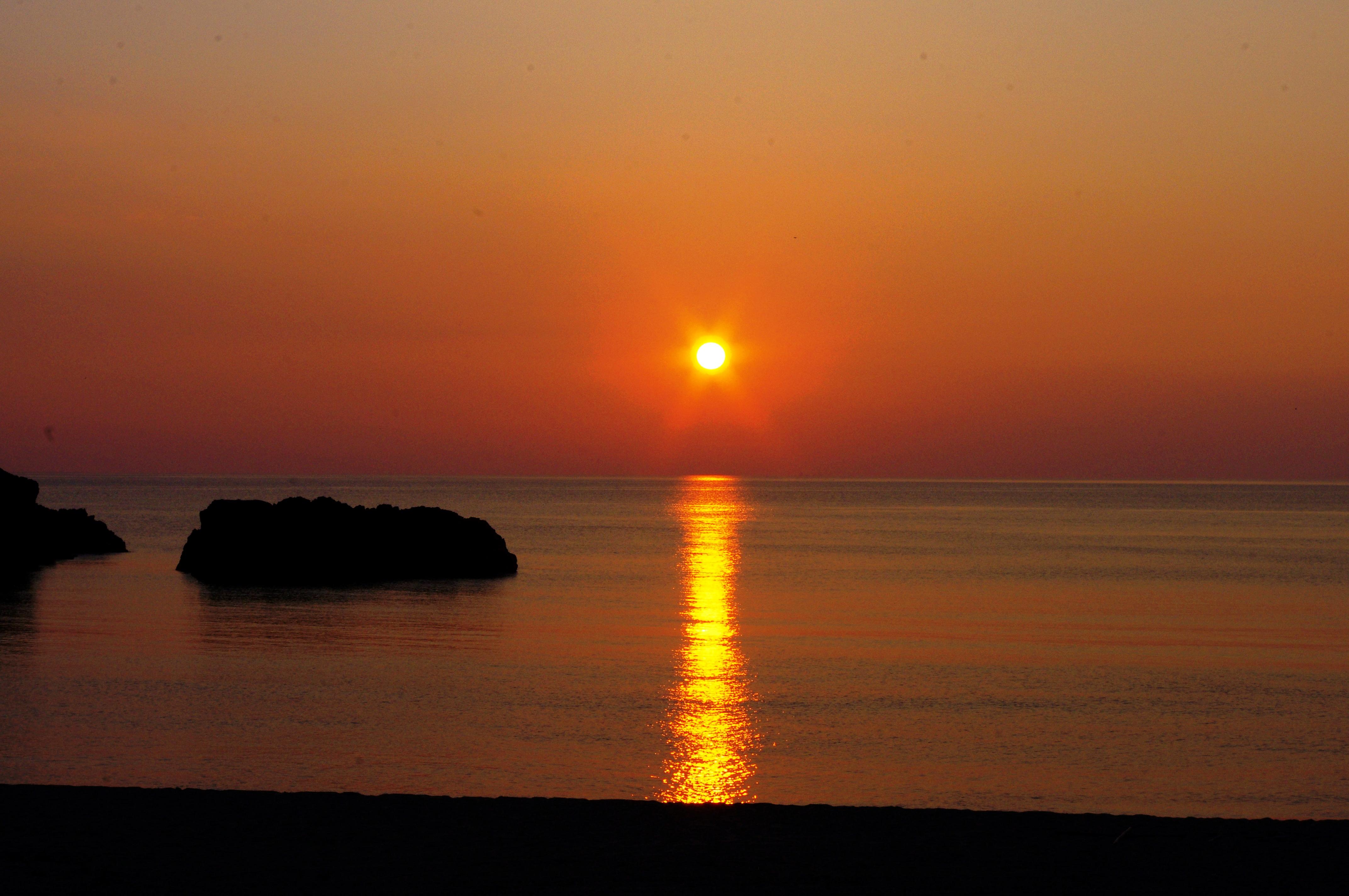 日没前の、三瀬海岸にて。 | ish...