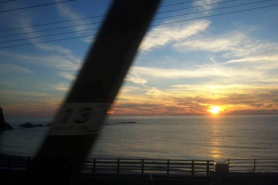 東京出張からの帰り